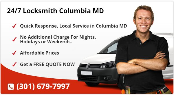 24 Hour Locksmith Columbia MD